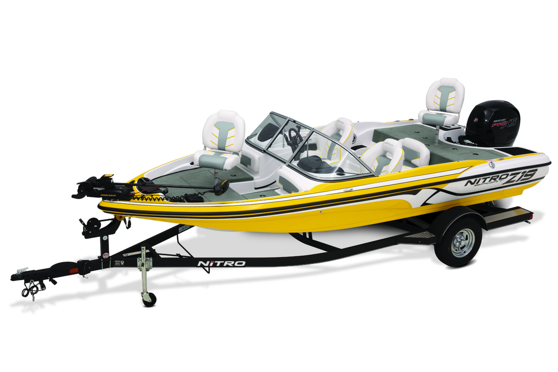Best Fish And Ski Boats >> 2019 Nitro Z19 Sport Fish And Ski Boat