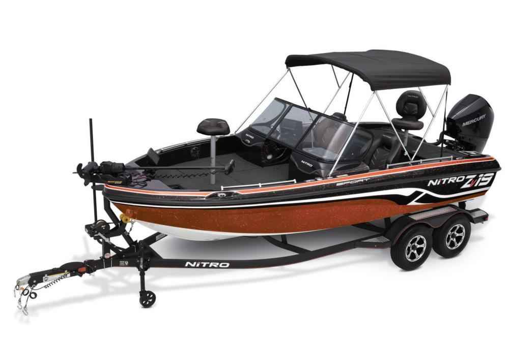 Best Fish And Ski Boats >> 2019 Nitro Zv19 Sport Pro Fish And Ski Boat W Performance